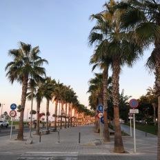 Valencia promenade