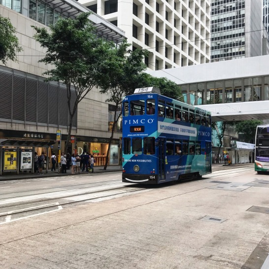 HKG doubledecker tram