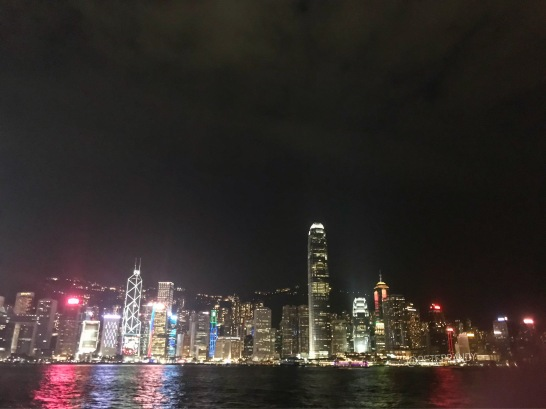 HongKong light show