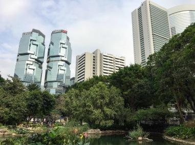 HongKong park view